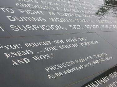 Words of gratitude from the President H.S. Truman.