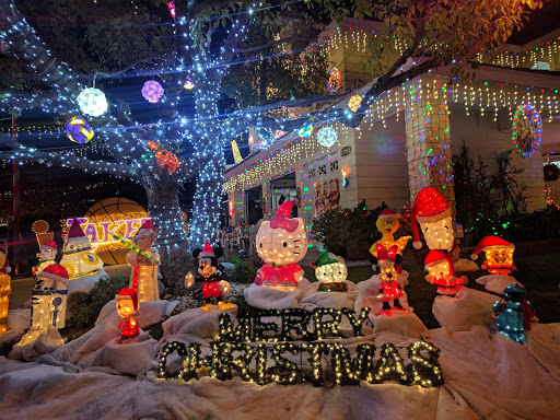 the enchanted christmas lights in los angeles - Christmas Lights In Santa Clarita