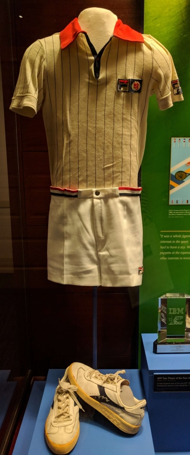 Bjorn Borg's kit from US Open finals, 1976
