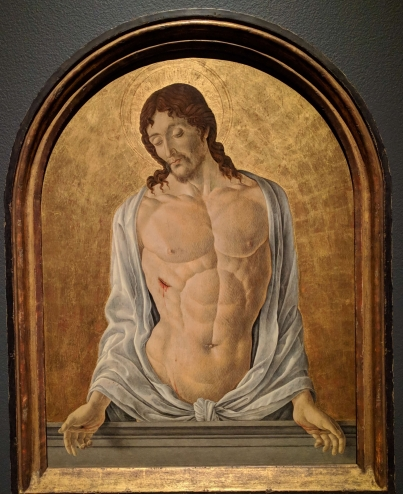 Man of sorrows by Marco Zoppo, 1470.