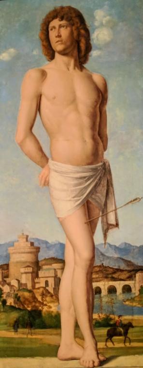 Saint Sebastian by Cima da Conegliano