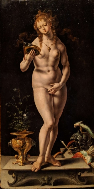 Venus by Jan Gossart. About 1521.