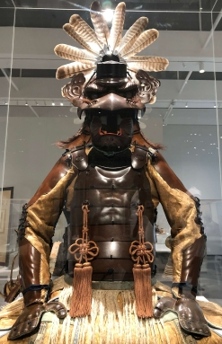 Suit of armor shaped like a tengu. Late edo period, 1854.