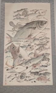 Myriad fishes. Meiji period, mid to late 19th centrury.