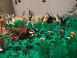 Harry Potter, 2 060 Lego bricks