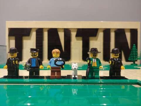 Tintin, 14 338 Lego bricks