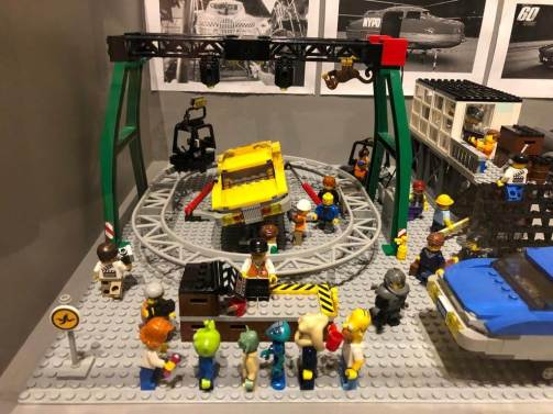 The Fifth Element, 600 Lego bricks